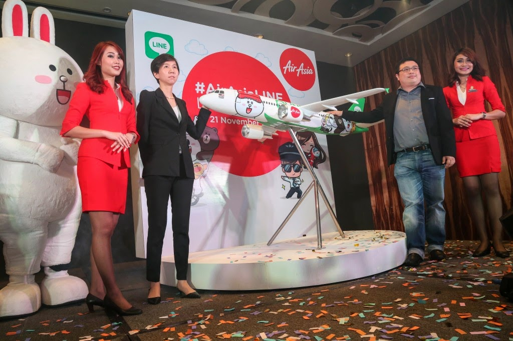 Let's fly with LINE characters on AirAsia!