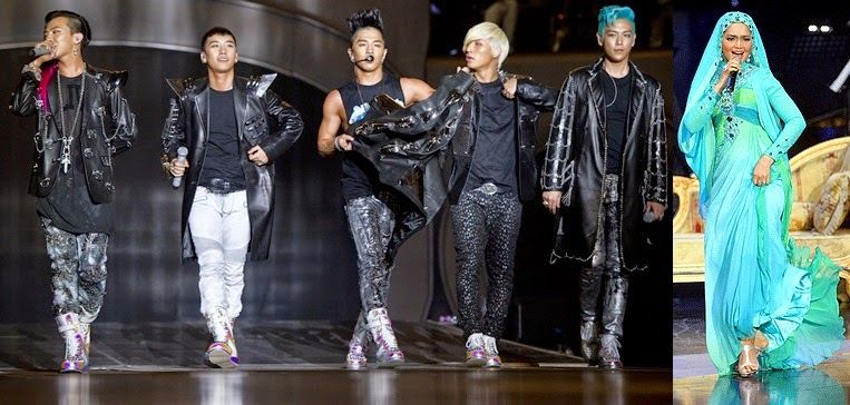 Big Bang, Siti to perform for Singapore's New Year party