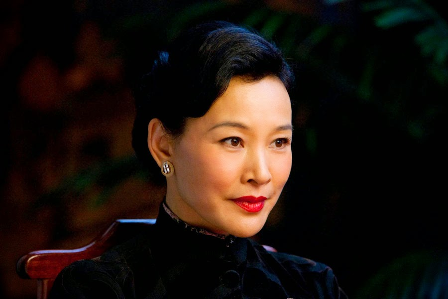 Joan Chen denies conflict with Gong Li