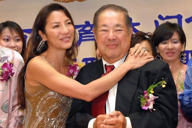 Yeoh breaks silence over dad's passing