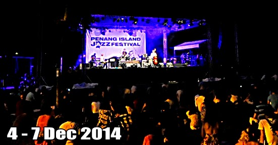 Time to boogie at Penang Island Jazz Festival 2014!