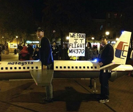 [Photos] Insensitive MH370 and MH17 Halloween costumes