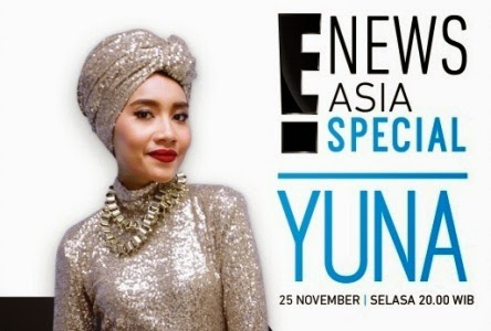 Yuna featured on E! News Asia Special story this month