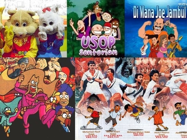 5 famous local cartoons in Malaysia