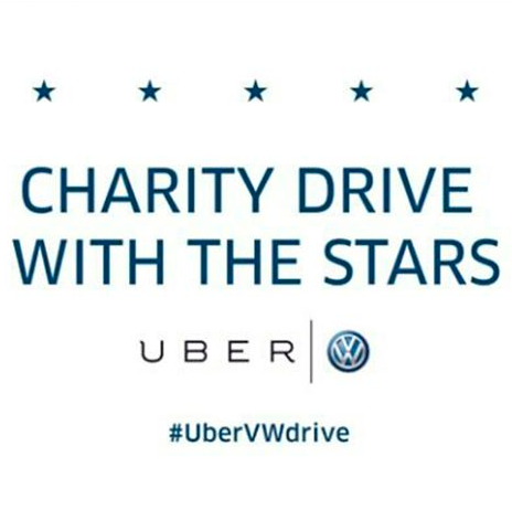 Ride Uber with local celebs today!