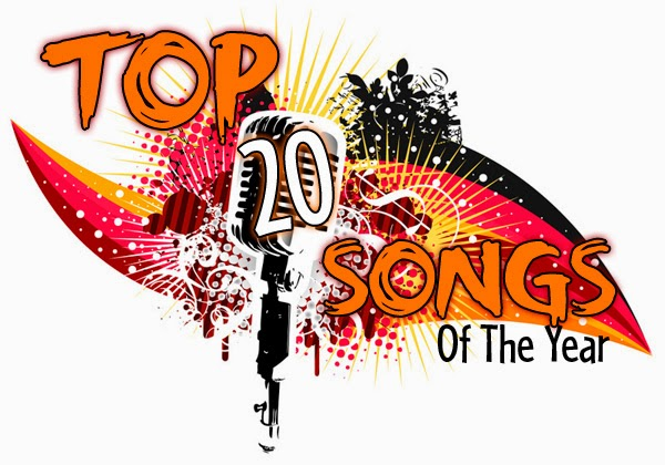 Top 20 most popular songs of 2014