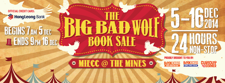Big Bad Wolf annual book sale starts this Friday