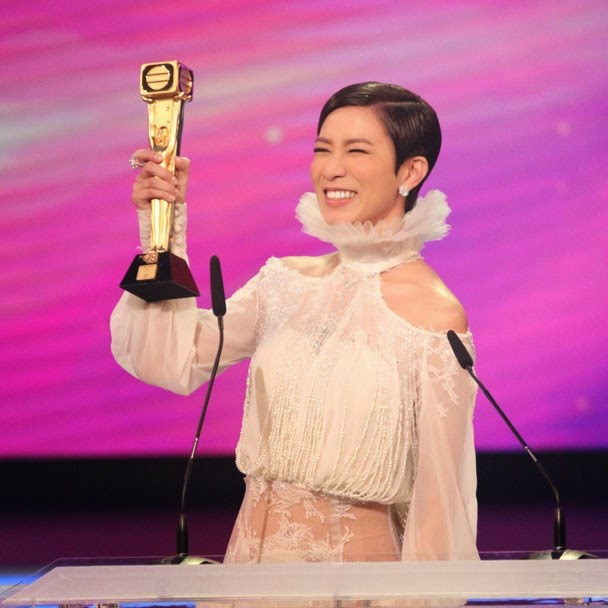 Charmaine Sheh gets the highest votes to win TV Queen