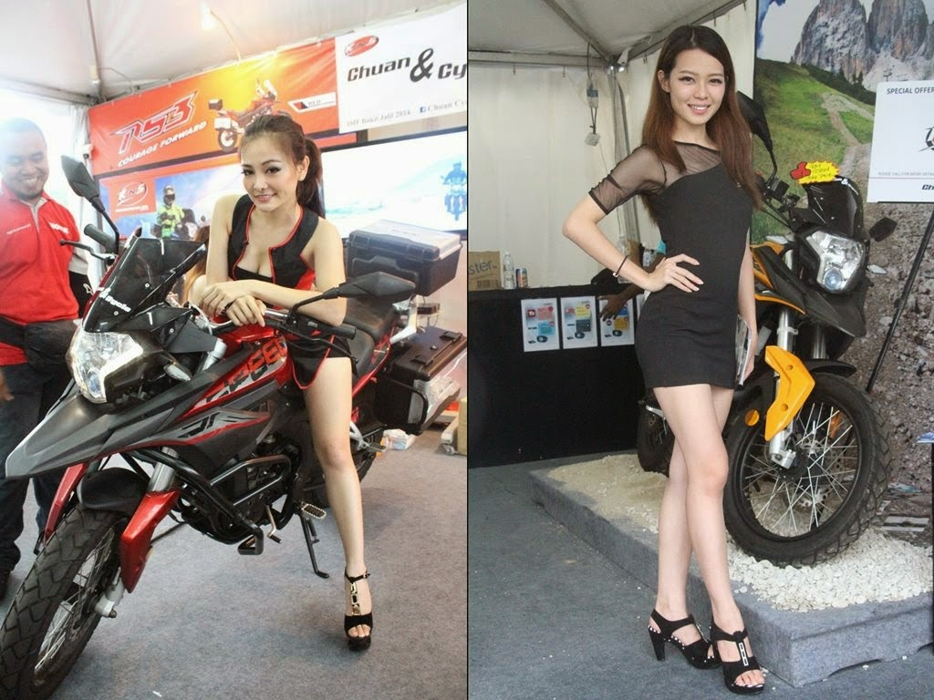 [Photos] Hot babes and bikes at Motorcycle Fest 2014