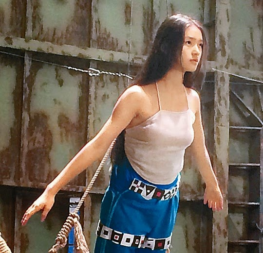 """Newcomer Lin Yun is Stephen Chow's """"Mermaid"""""""