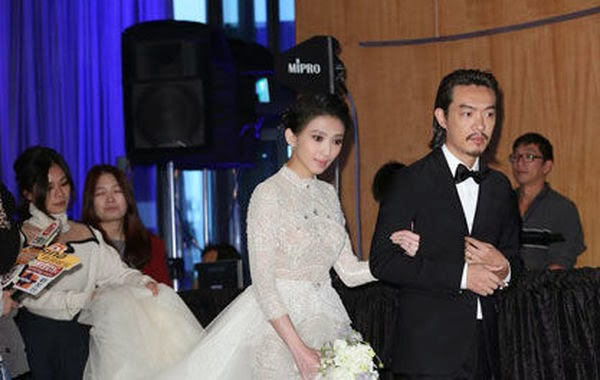 Penny Dai ties the knot in a western-style wedding