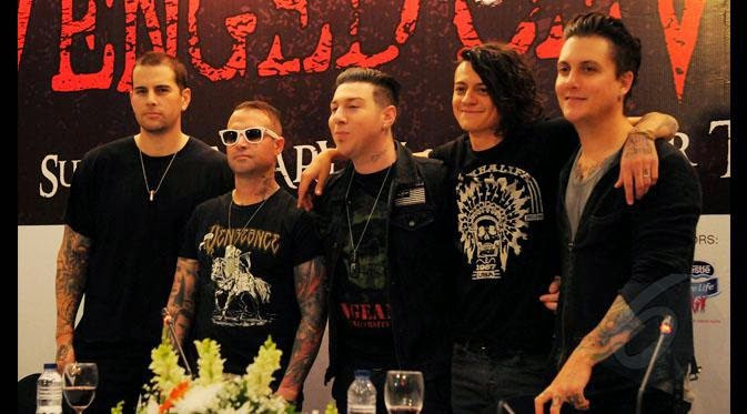 Avenged Sevenfold excited to play for Malaysia again