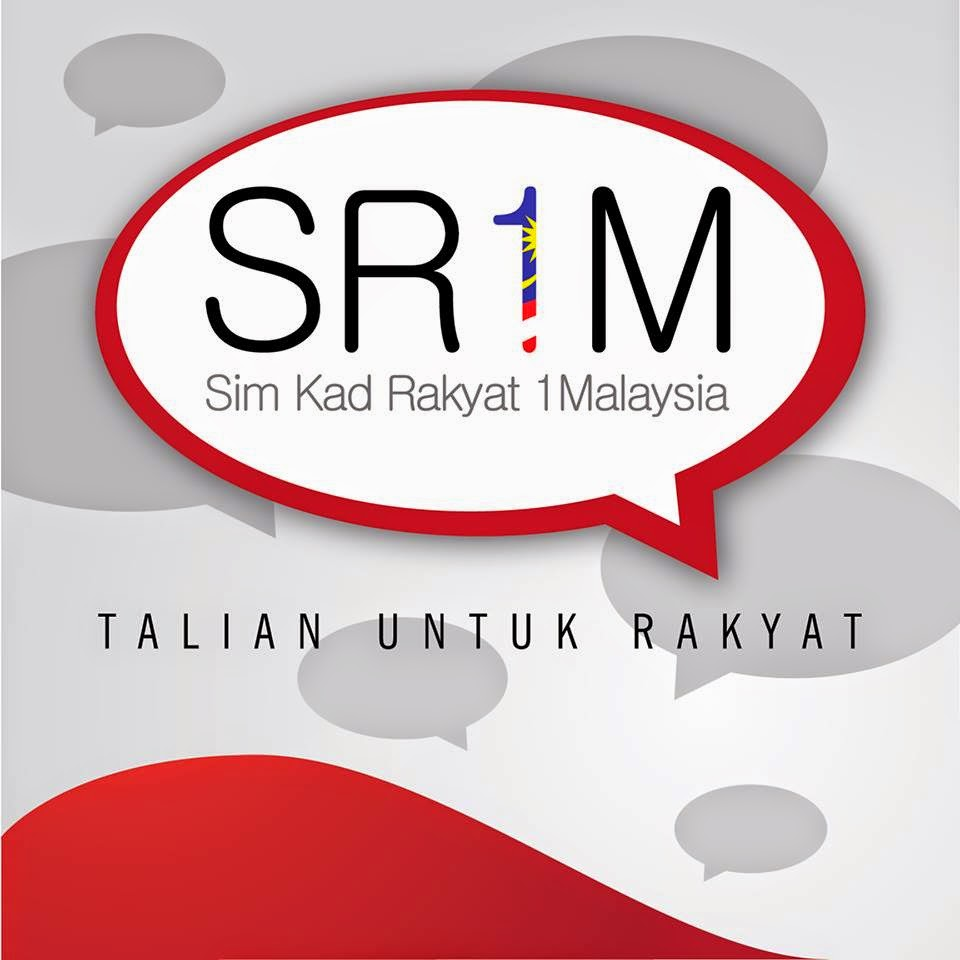 Low call, SMS and data rate with Sim Card Rakyat 1Malaysia