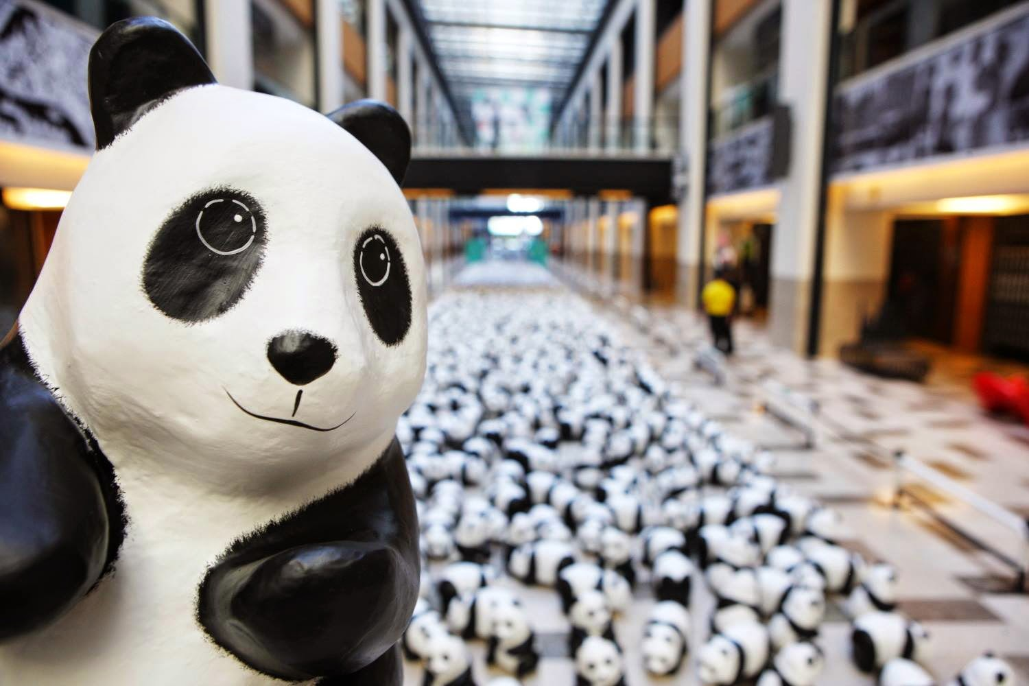 Go see and take photos with 1,600 Pandas at Publika