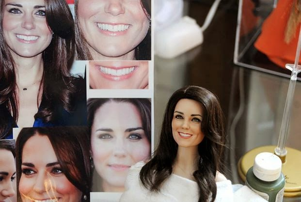 Kate Middleton and other look-alike celeb dolls