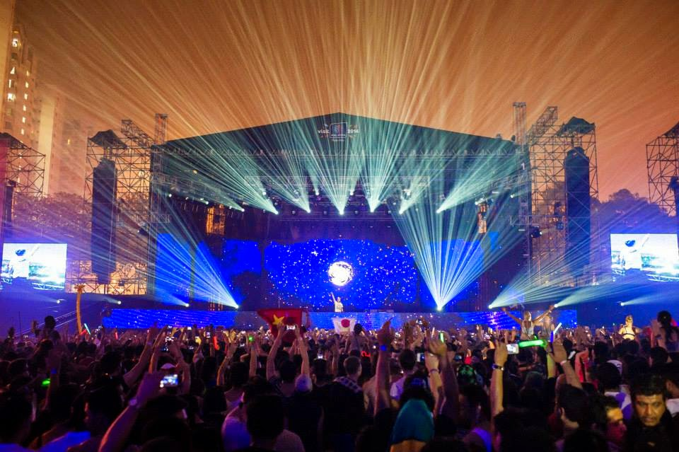 The full line-up of Future Music Festival Asia 2015 is out