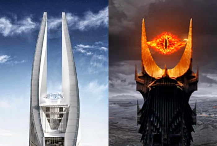 Africa's upcoming tallest building looks like the 'Eye of Sauron'