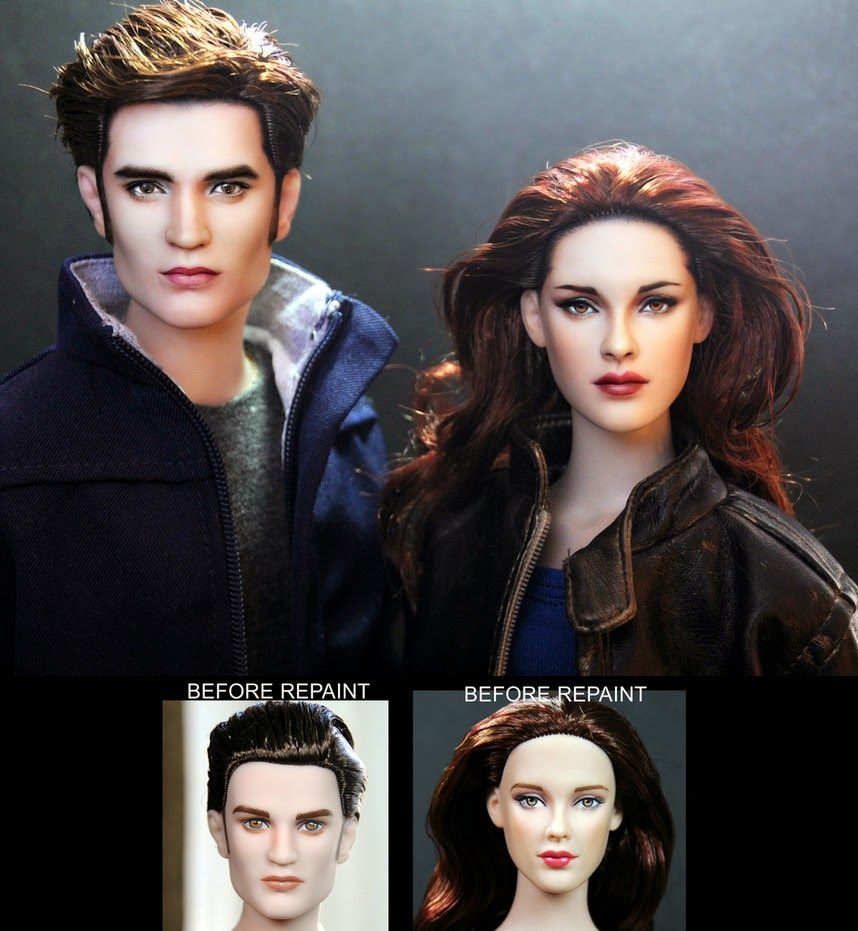 breaking dawn part 2 edward and bella dolls by noeling d5l7ucr