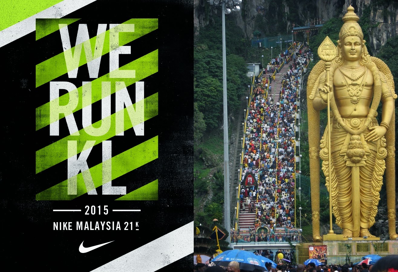 Road closure in KL this Sunday for Thaipusam and Nike Run