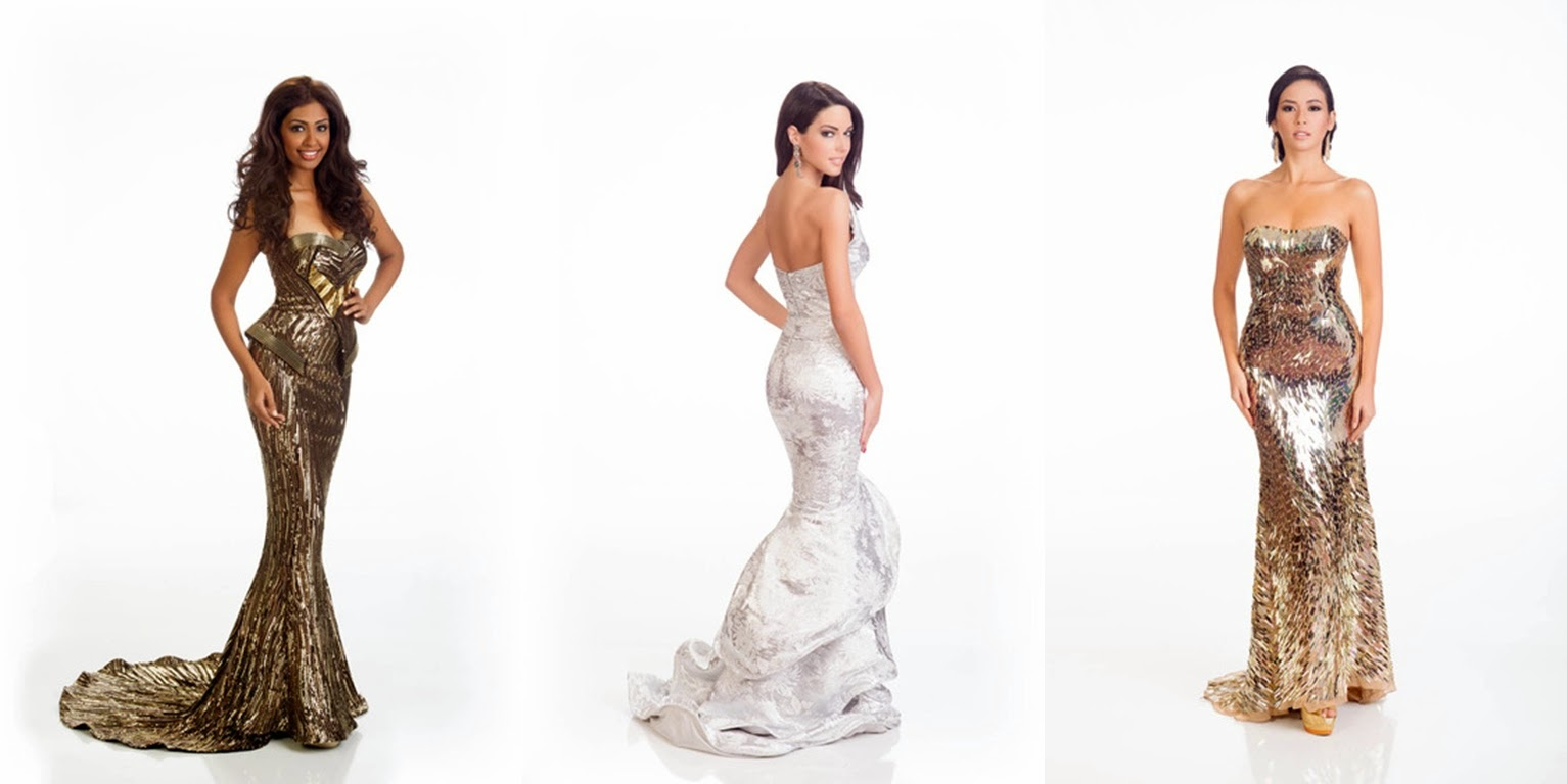 [Photos] Miss Universe contestants' mesmerising gowns