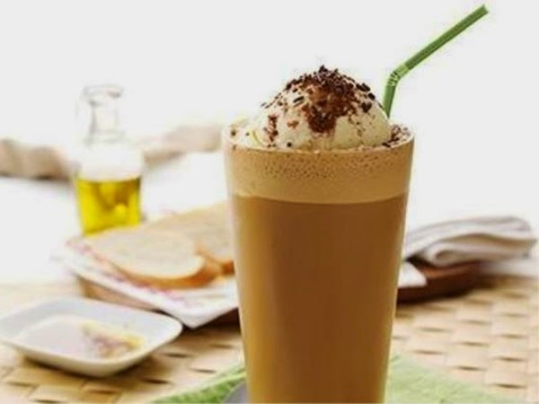 Make a refreshing Nescafe Punch Float Drink