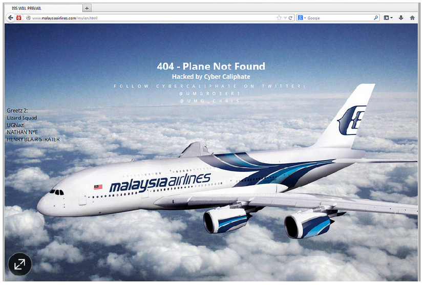 Malaysian Airlines claims its website was not hacked