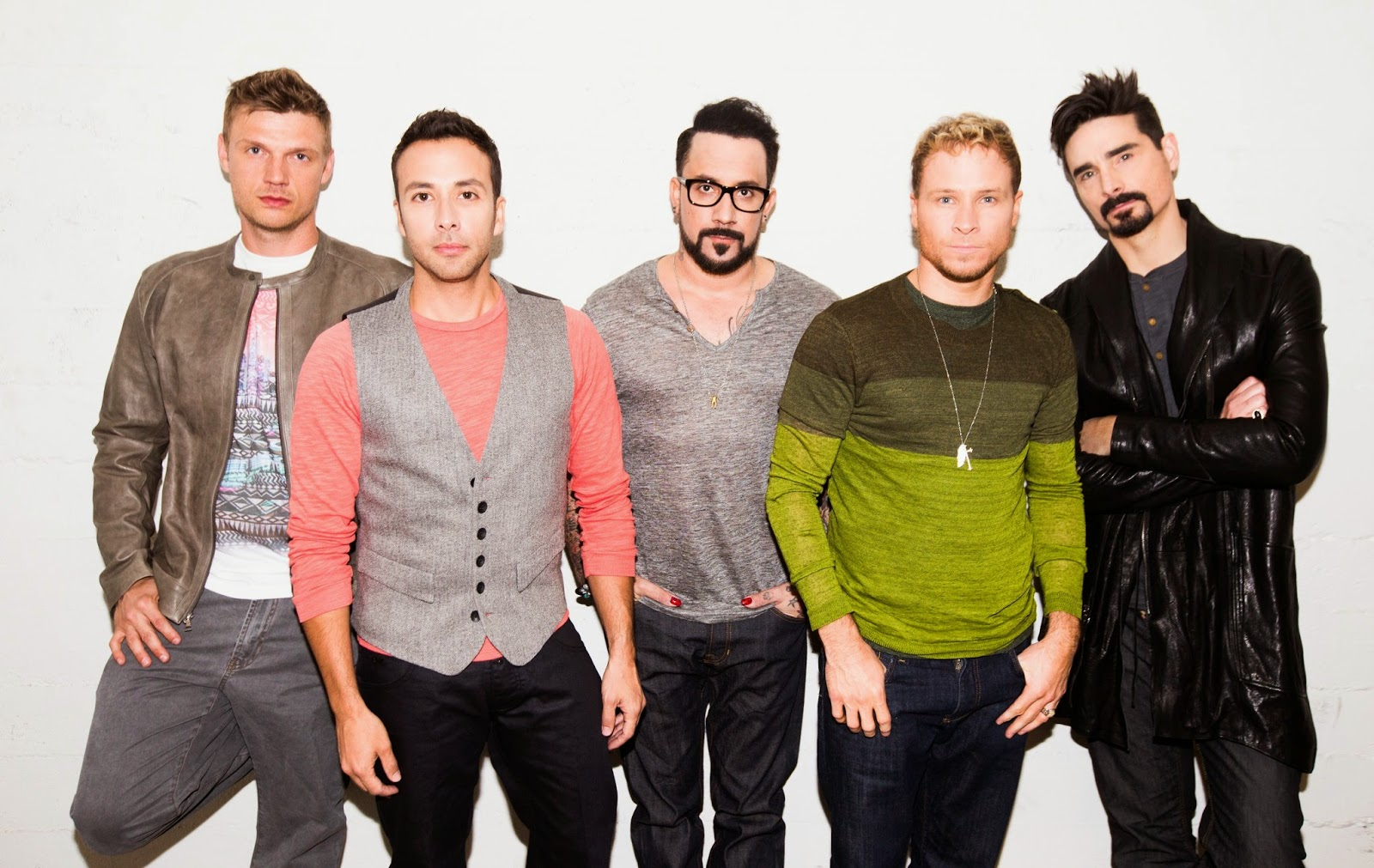 Everybody! The Backstreet Boys are coming to town!
