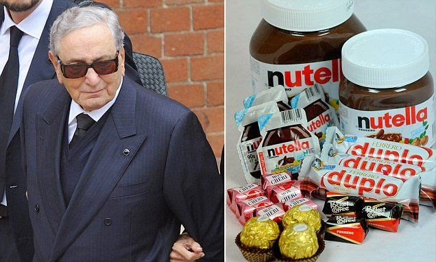 Owner of Ferrero Rocher and Nutella dies at 89