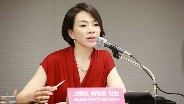 Korean Air's CEO's daughter sentenced to a year in jail