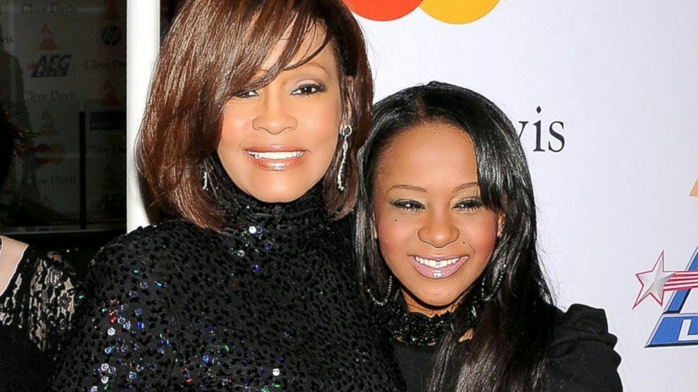 Whitney Houston's daughter now in medically induced coma