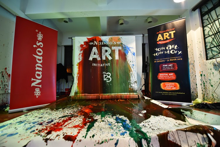 The Launch of 2015 Nandos Art Intiative and LOT123