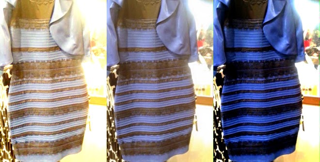 Blue and Black or White and Gold? That is the question!