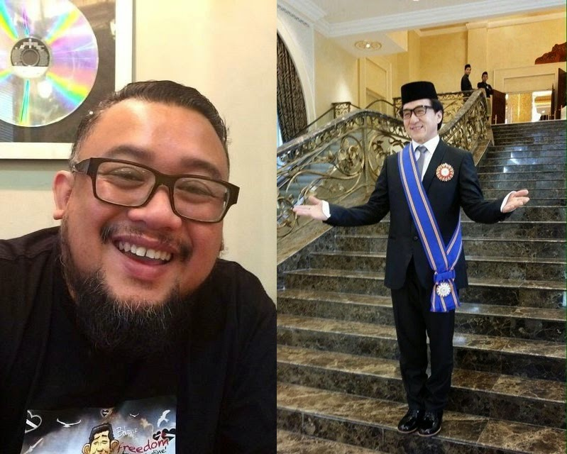 Afdlin reacts to Jackie Chan's Datuk title