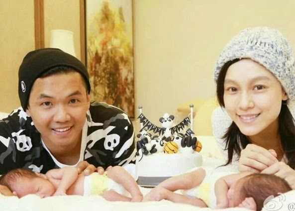 Blackie Chen's twins get endorsement offers