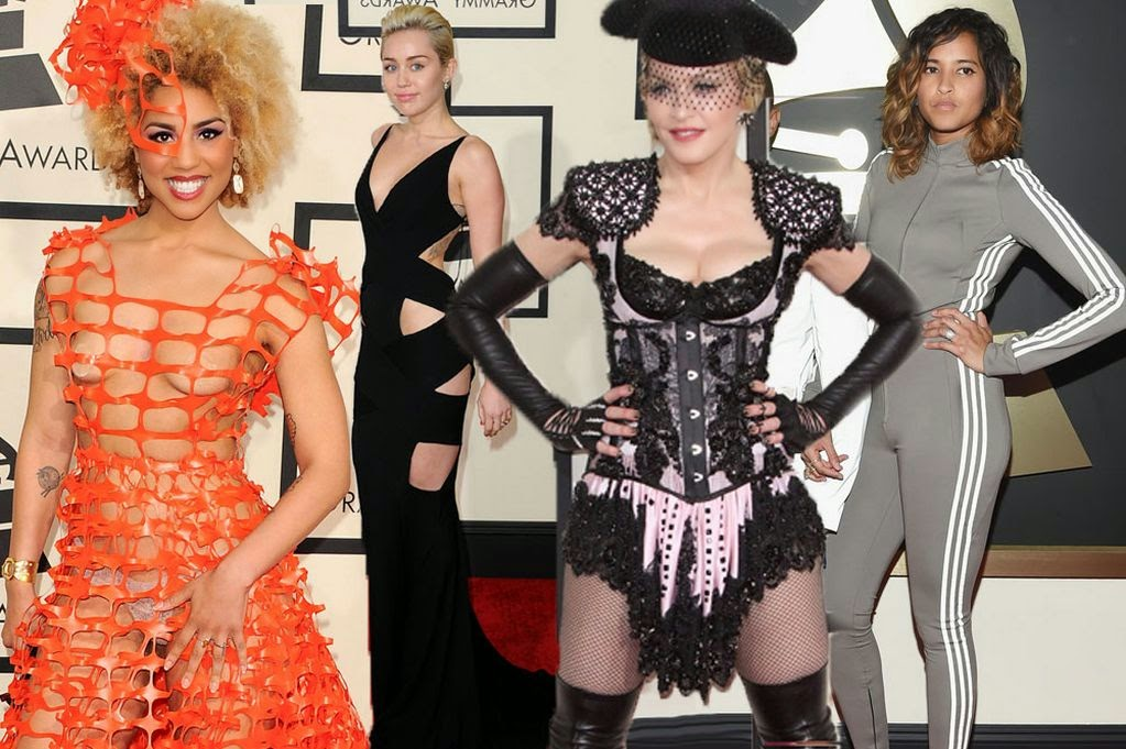 [Photos] Most outrageous outfits at the 2015 Grammy awards