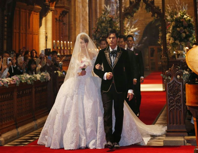 Jay Chou and wife to hold banquet in Taipei