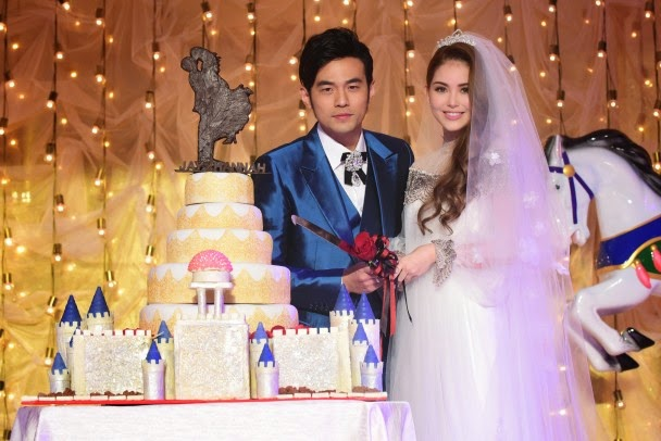 Jay Chou and Hannah Quinlivan hold another banquet