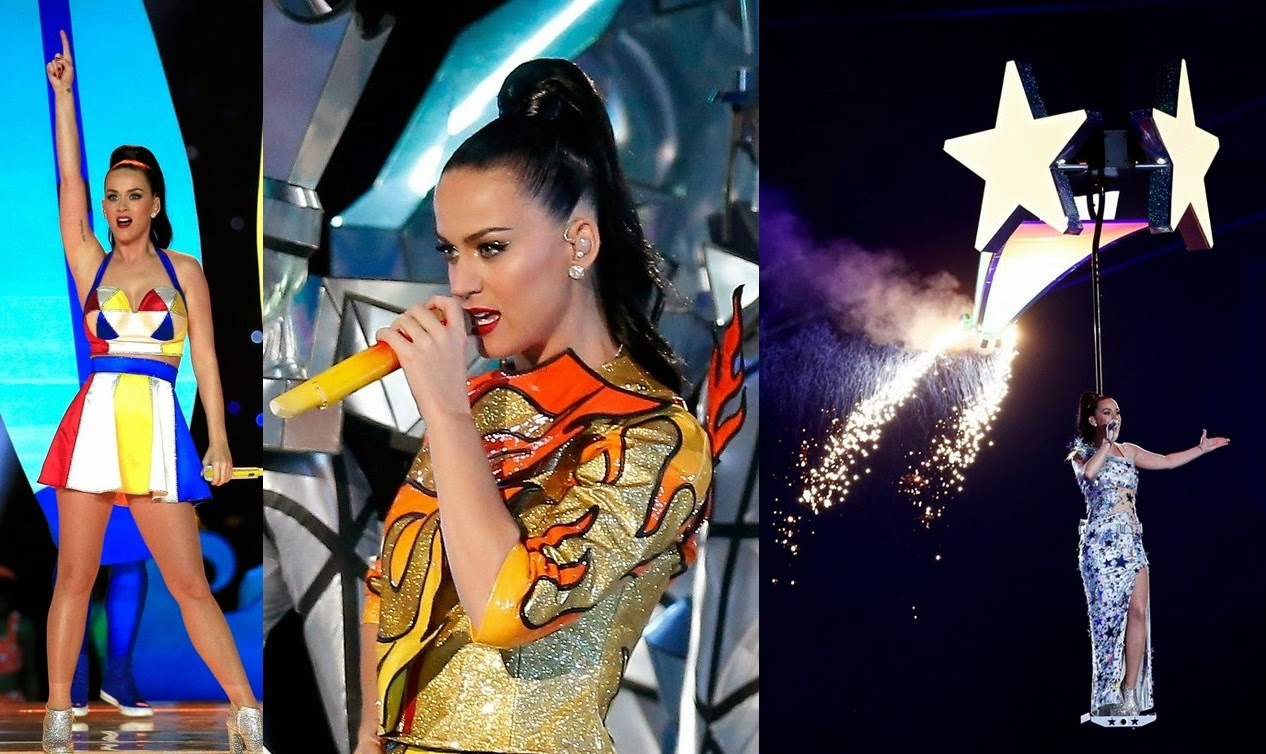 Katy Perry rocks out at Super Bowl 2015 halftime show