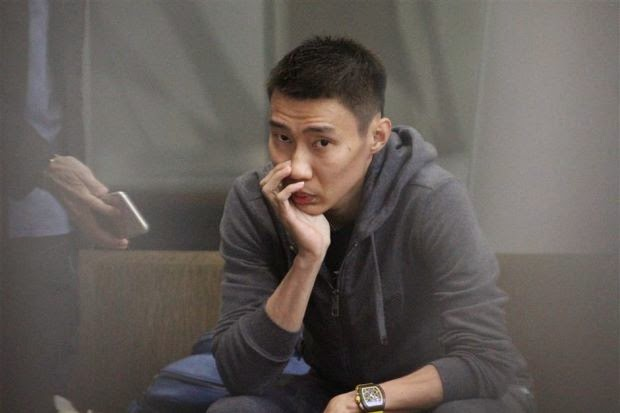 lee chong wei looking sad and worried