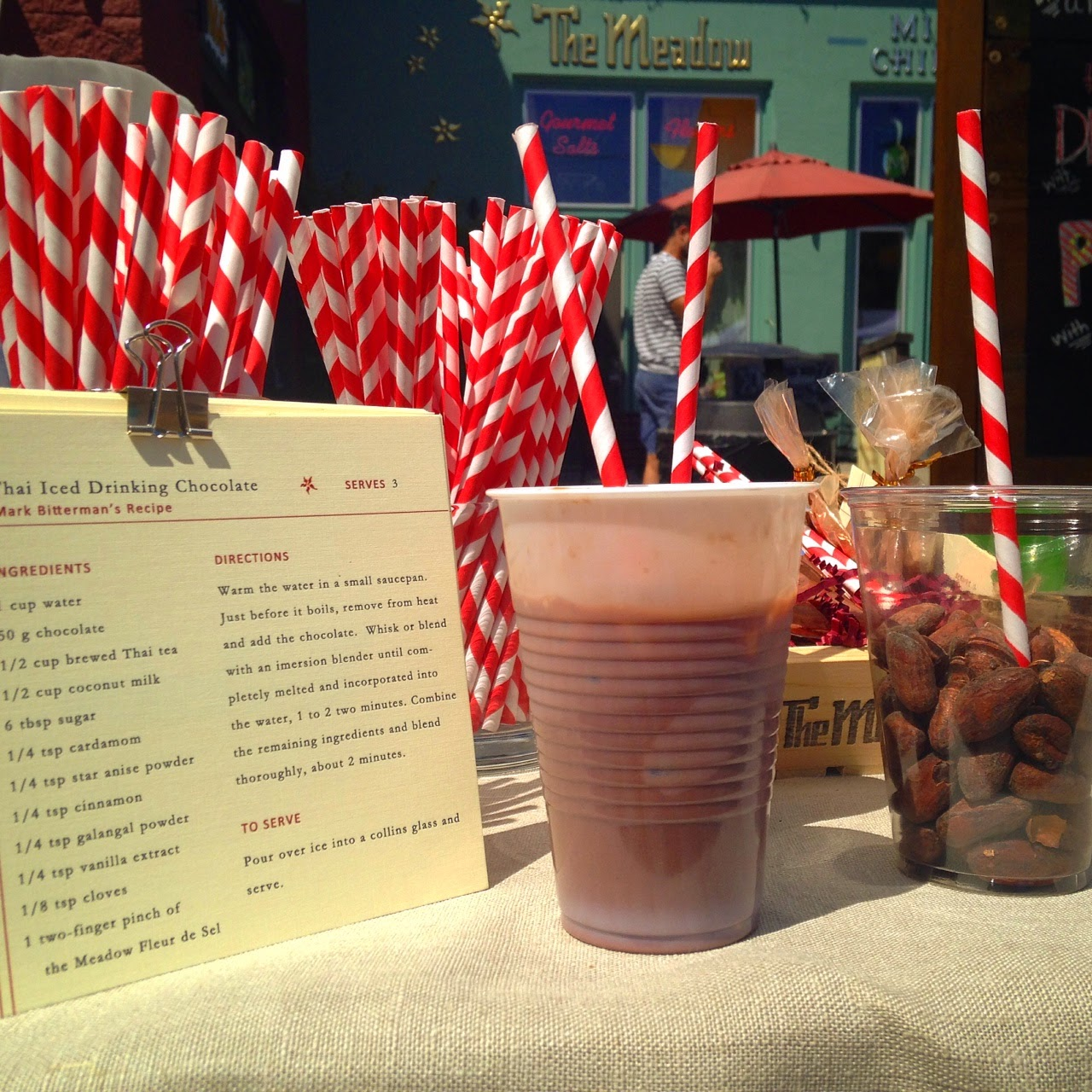 The Meadow recipe: Thai Iced Drinking Chocolate