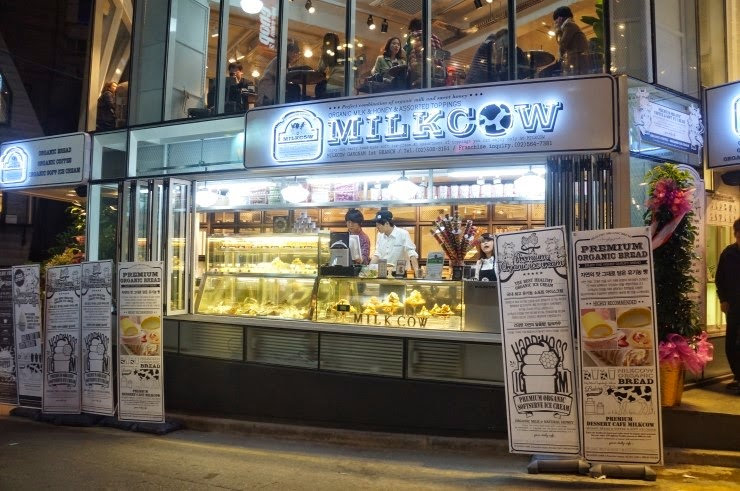 MilkCow third outlet opens at IOI City Mall