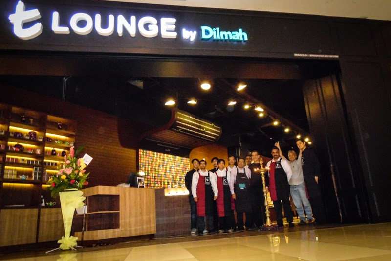 Drink tea at t-Lounge by Dilmah at IOI City Mall