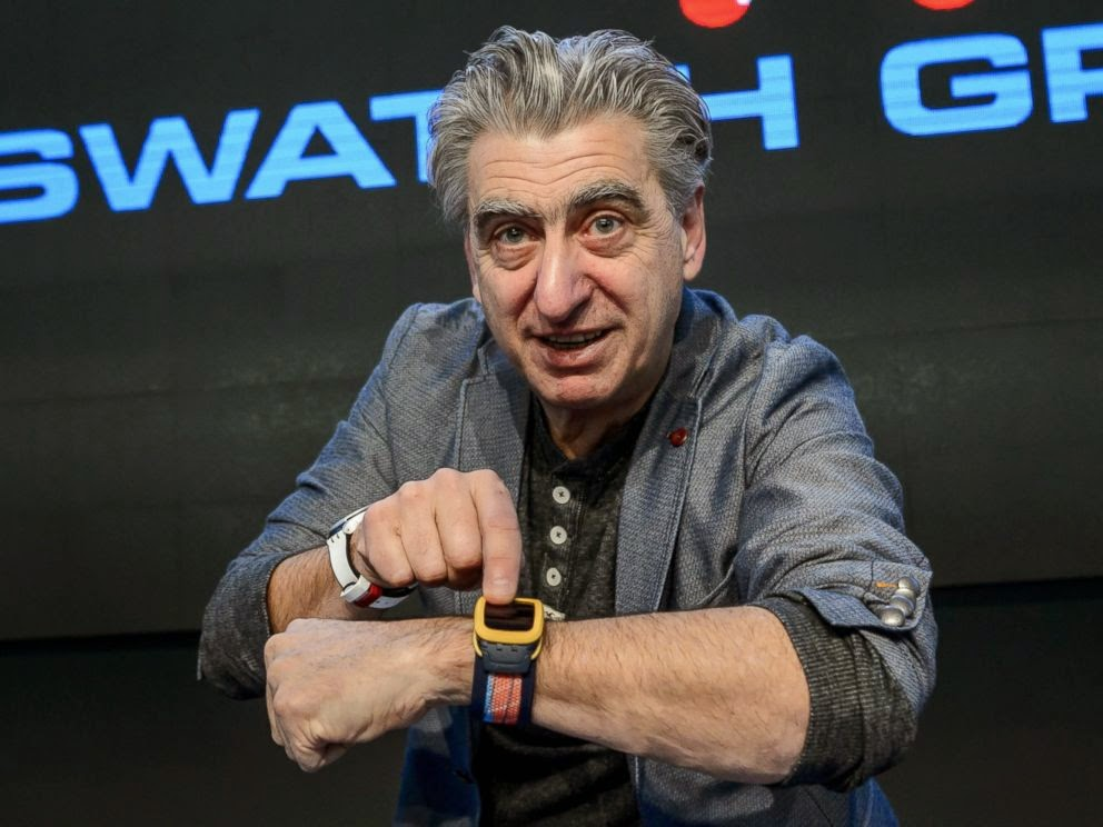 Swatch reveals new feature to compete with smartwatches
