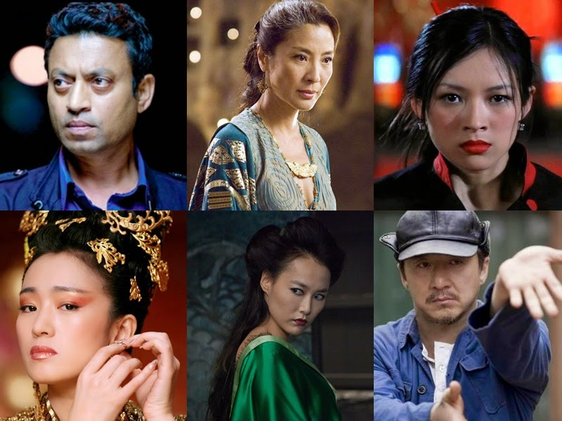 10 Asian stars that made it in Hollywood