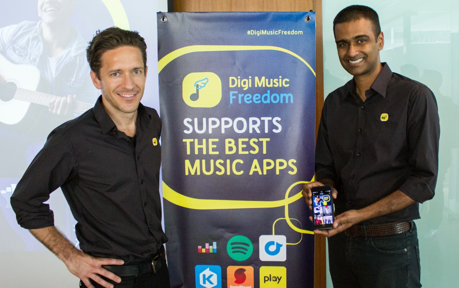 Unlimited music streaming with Digi Music Freedom