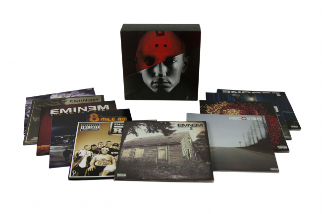 Eminem releases limited edition discography box set