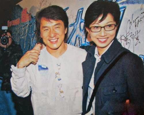 Elaine Ng denies accepting money from Jackie Chan