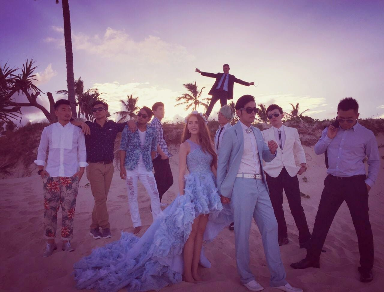 Jay Chou and wife held another wedding in Australia
