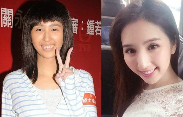 Lily Ho transforms into an ugly girl