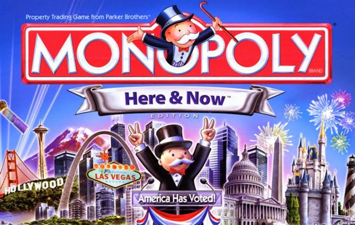Vote for your city to be in the next Monopoly edition